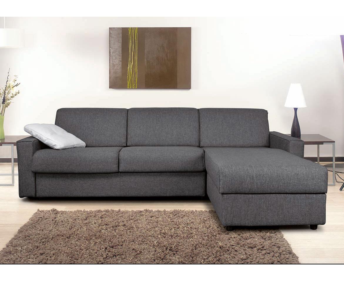 Divano letto modello Cleo con materasso alto 18 cm - FEDELFLEX