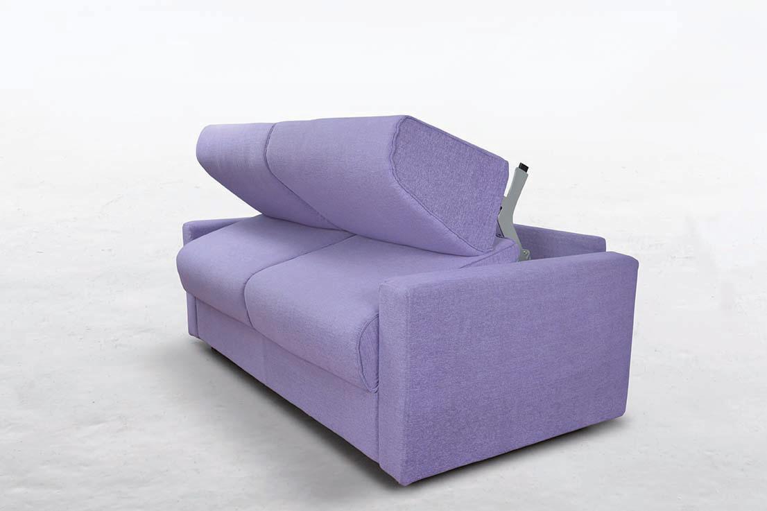 Divano letto modello cleo con materasso alto 18 cm fedelflex - Divano letto con materasso alto 20 cm ...
