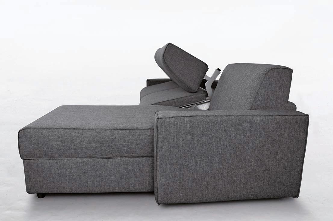 Divano letto modello cleo con materasso alto 18 cm fedelflex for Divano letto con materasso alto 20 cm